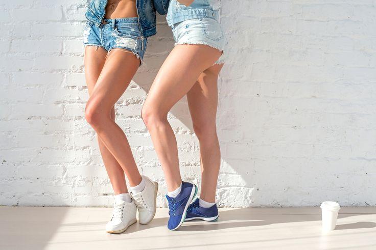 Przepis na szczupłe nogi - Piękne, jędrne nogi z lekko zarysowanymi mięśniami, to marzenie niejednej z Was. Nad tą częścią ciała nie jest łatwo pracować.