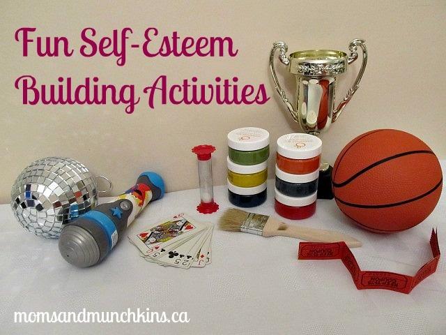 Fun self-esteem building activities via @momsandmunchkin #healthyhabits #cgc