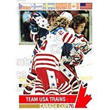 Team USA Hockey Card 1992 Future Trends Canada Cup 1976 #115 Team USA
