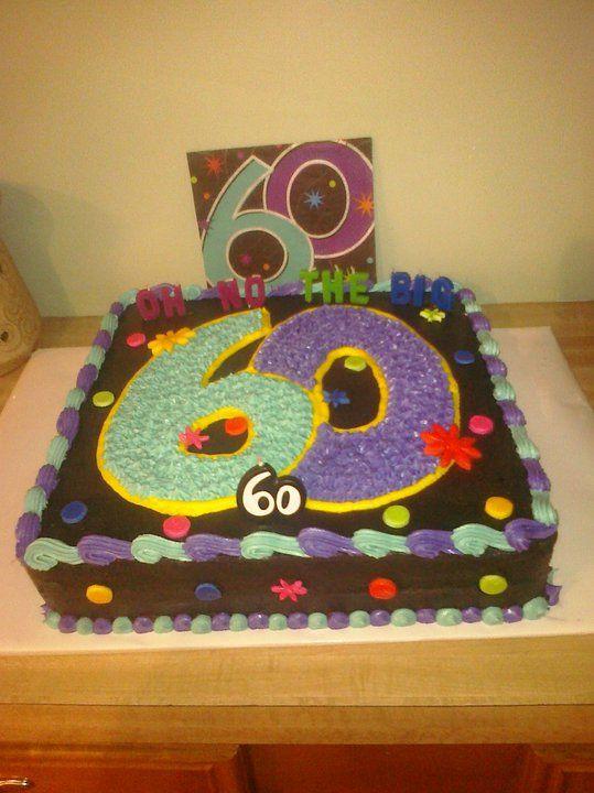 Birthday Cake Decorating Ideas Dad : 25+ best 60th birthday cakes ideas on Pinterest