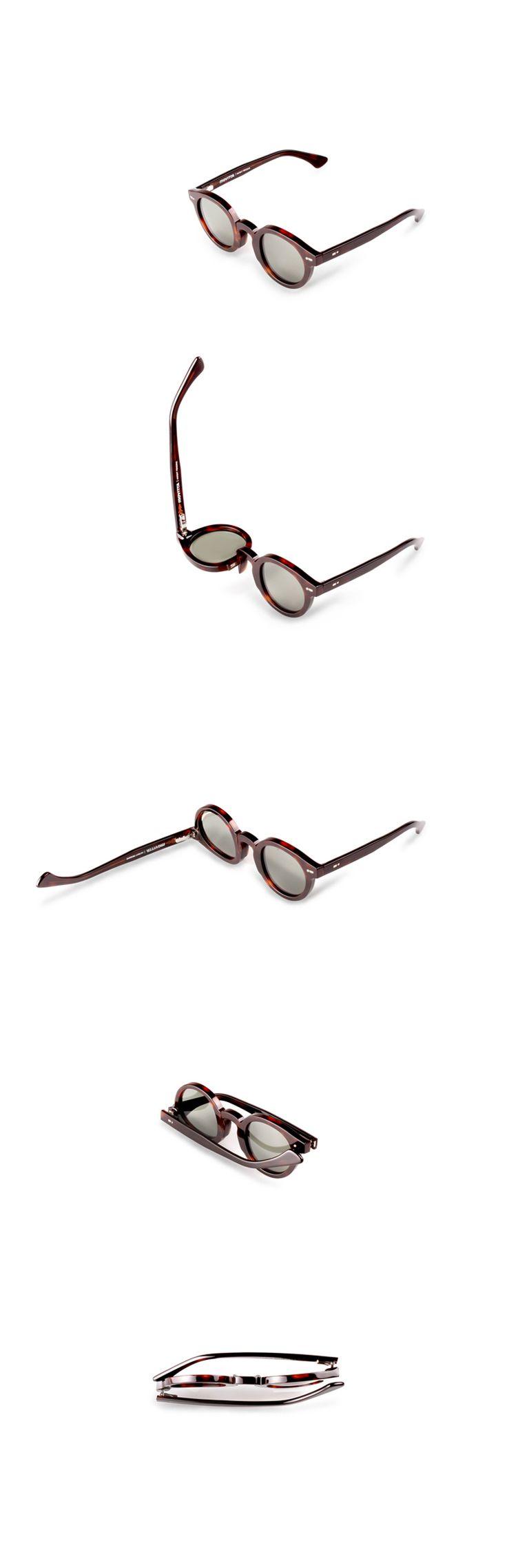 Movitra 315 - Havana scuro con lente verde #sunglasses #movitra #movitraspectacles #spectacles #glasses #eyewear