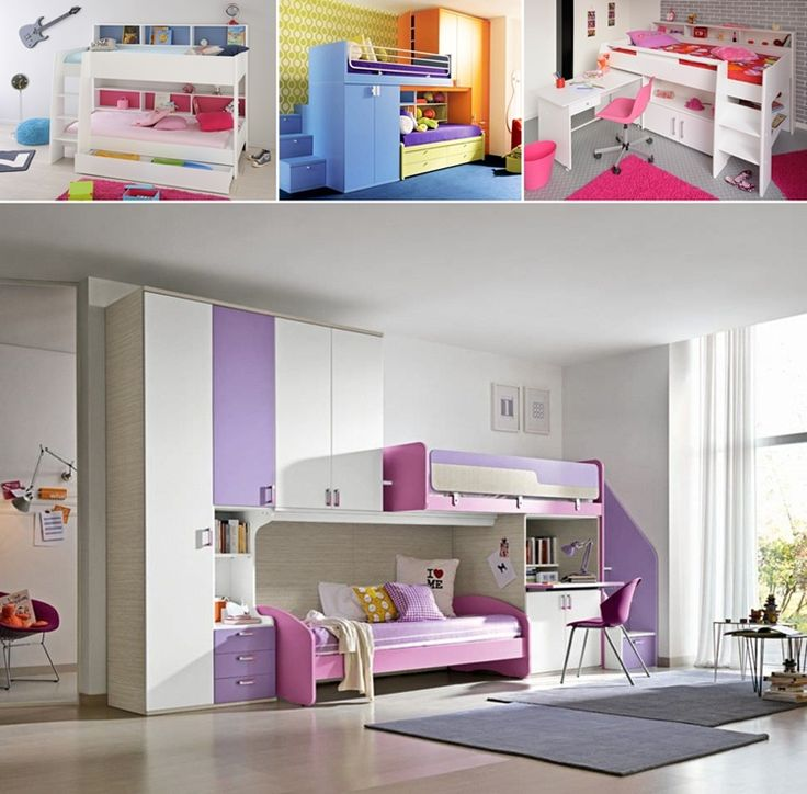 Decorating Ideas > 15 Cool Bunk Beds That Combine Sleep And Storage Together  ~ 143650_Garageband Decorating Ideas