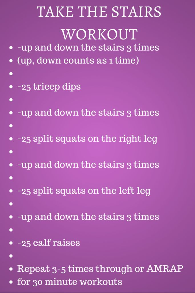 Take the Stairs workout image 1