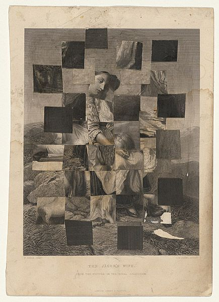 Sidney NOLAN, Collage from