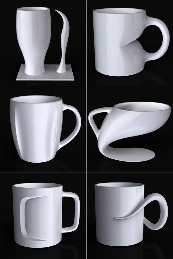 Coffee Mugs by Jerome Olivet