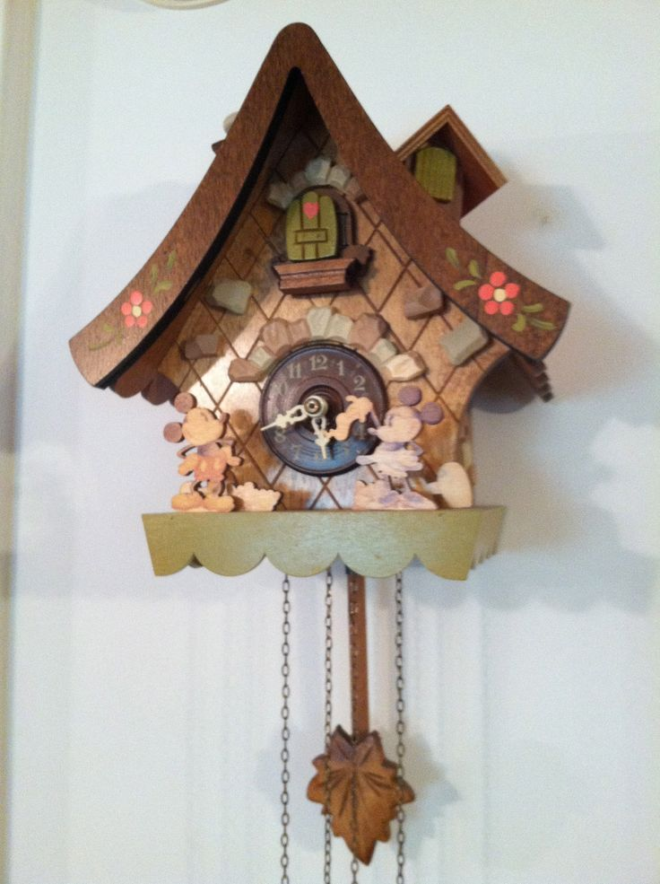Mickey And Minnie Cuckoo Clock A Few Of My Favorite