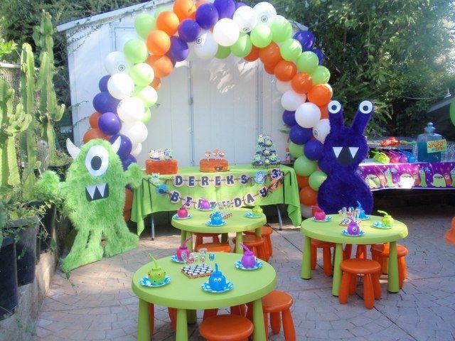 "Photo 4 of 38: Cute Little Monster's / Birthday ""Derek's 3rd Birthday"" | Catch My Party"