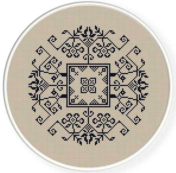 Cross stitch pattern, vintage chinese folk,chinese wedding  pattern design ,zxxc0421