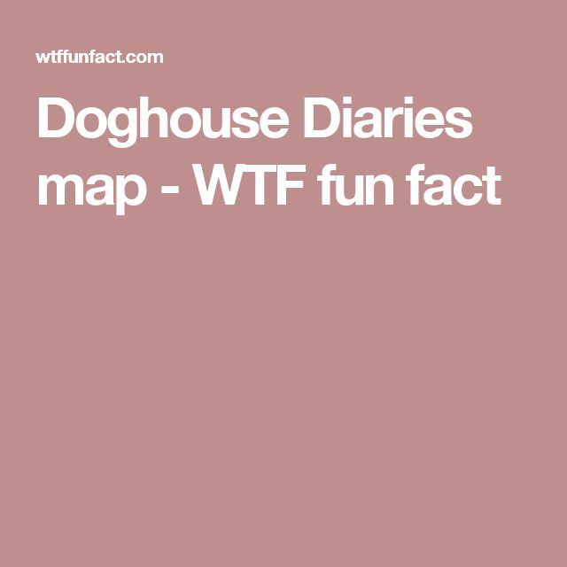 Doghouse Diaries Map Wtf Fun Fact Map World Funny Maps