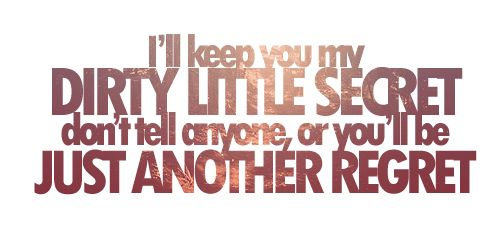 Dirty Little Secret, by The All-American Rejects. #AAR ...