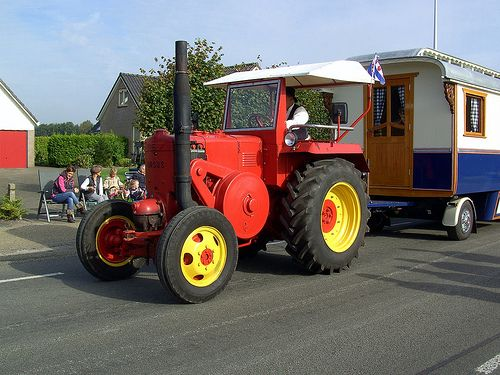 Ursus, a tractor from Poland