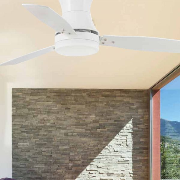 Moderner Deckenventilator Tonsay In Weiss Ventilator Deckenventilator Und Deckenleuchten