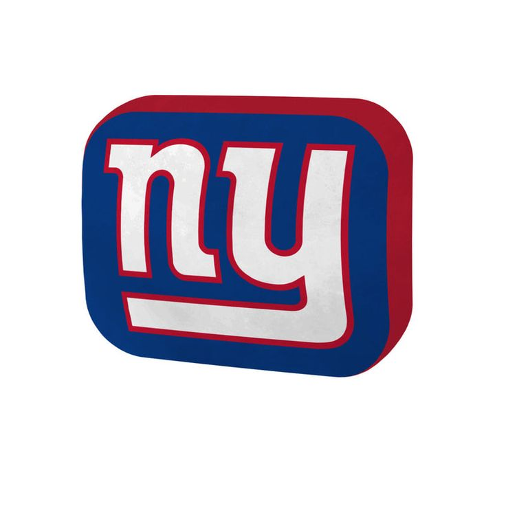 """New York Giants The Northwest Company 15"""" Cloud Pillow"""