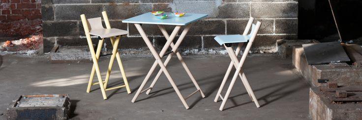 Table & bar stools - Saariwood Design