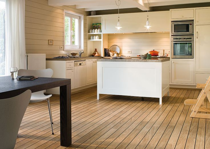 Natural Varnished Oak   Shipdeck   Possible Kitchen Flooring; Good With  Underfloor Heating?