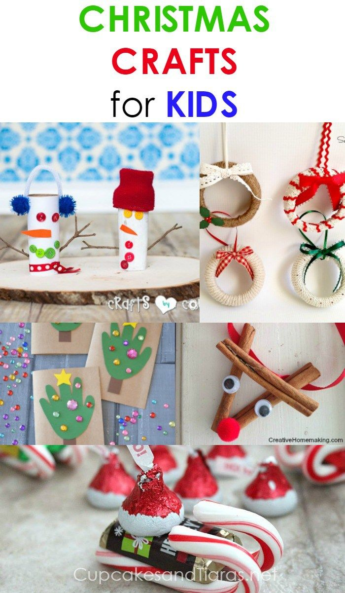 Christmas crafts for kids these easy to make crafts Christmas crafts for kids to make at home