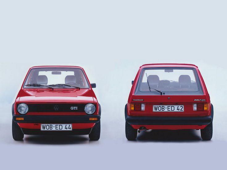 mesmomeugenero: VW Golf I GTI