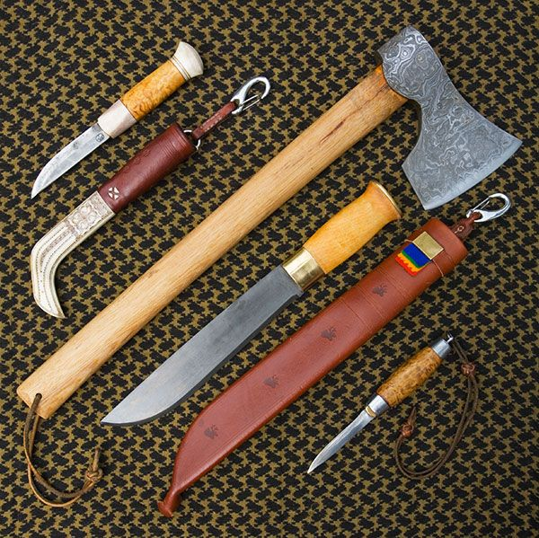 Scandinavian Sami tool set