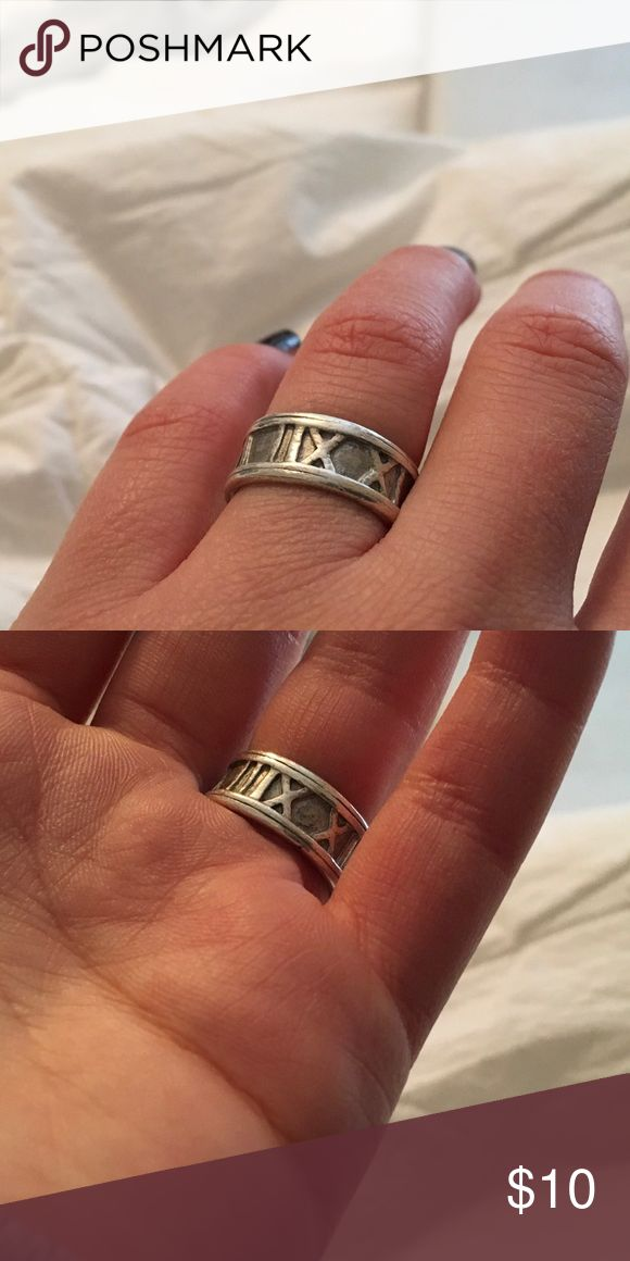 Roman numeral ring I got this ring a little while ago and love it! I just don't wear it as much as I expected to! Jewelry Rings