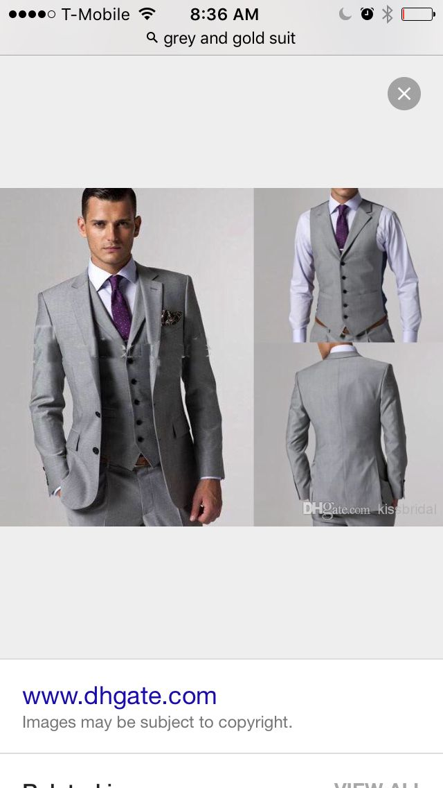 Grey and lavender