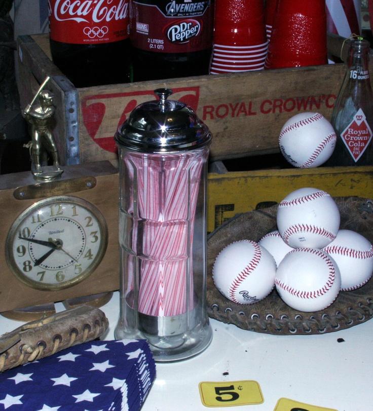 Vintage Kids Baseball Party
