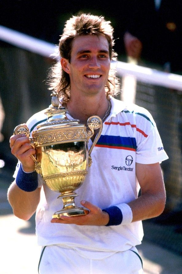 Pat Cash, former pro Aussie tennis player - I got his autograph way back in 1983!