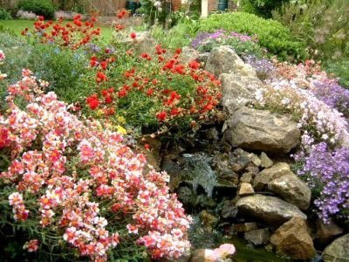 17 meilleures idées à propos de Jardin De Rocaille sur ...