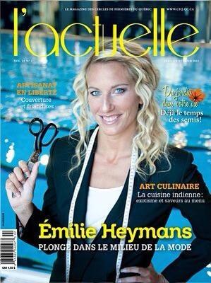 Émilie Heymans Shoothing ! Maquillage et coiffure
