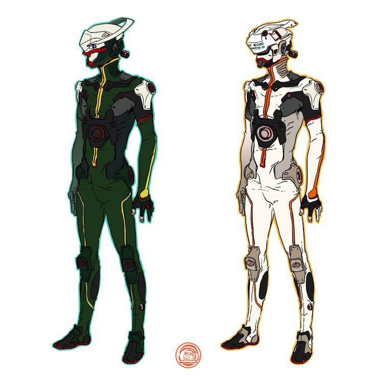 DEPOT 977 - Mecha design studios about sci-fi suit and helmet... follow me: www.facebook.com/depot977  |  www.depot977.com  #deckard977 #depot977
