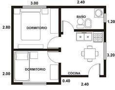 planos de casas pequeñas - Buscar con Google