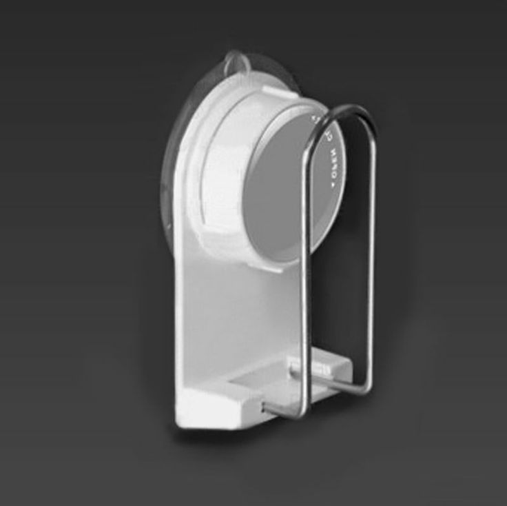 [DeHUB Suction-White] Cup Holder Compact Reverse Innovative for Bath & Kitchen