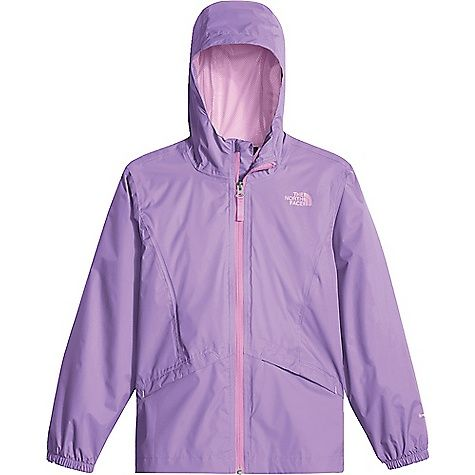The North Face Girls' Zipline Rain Jacket: FEATURES of The North… #NorthFaceJackets #PatagoniaJackets #ArcteryxJackets #MountainHardwear