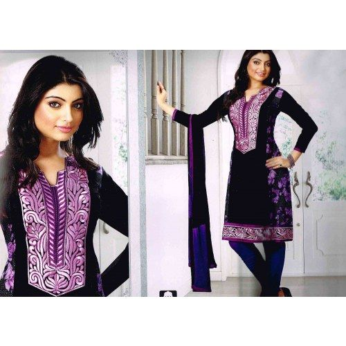 Embroidery Designer Suit  - Online Shopping for Dress Material by ODFASHION