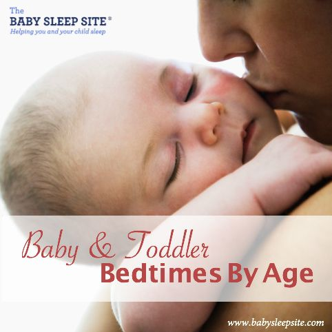 Baby and Toddler Bedtimes By Age - A Reference Chart