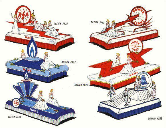 Float Designs for Public Utilities and Industrial Farms - Astro Parade Float Materials Ltd. - Float Kits - Winnipeg Manitoba