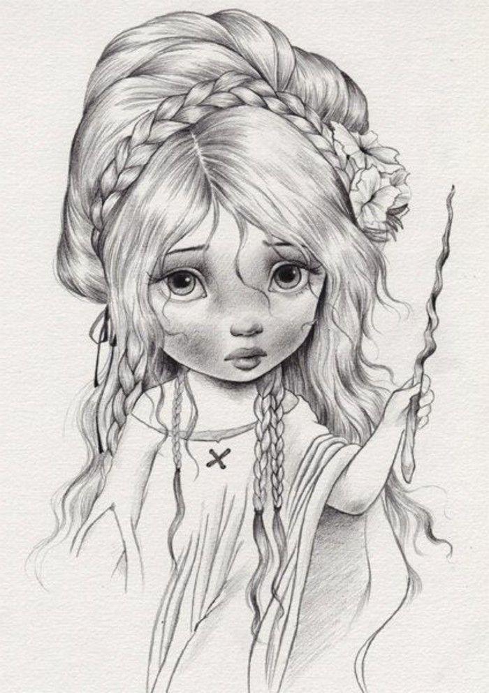 Zeichnen Lernen Mit Bleistift Selbst Kunst Schaffen Malen