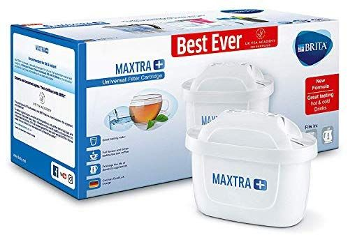 Brita Maxtra Water Filter Cartridges Compatible With Brita Jugs Helps With Reduction Of Limescale And Chlorine Pack In 2020 Water Filter Cartridges Brita Jug Brita