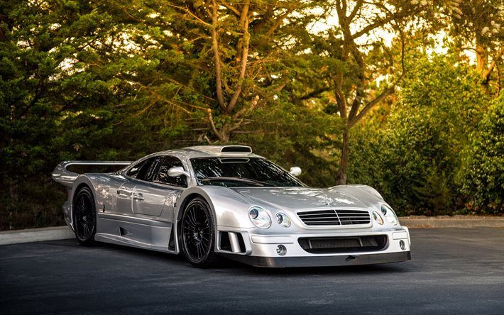 Mercedes-Benz CLK GTR, AMG, Coupe, Supercar, sports car, German cars, Mercedes