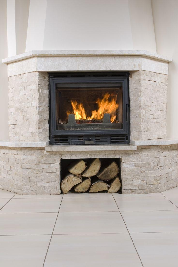 1000 Ideas About White Stone Fireplaces On Pinterest