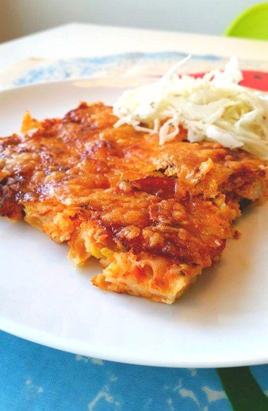 Makaronipizza - zeinaskitchen