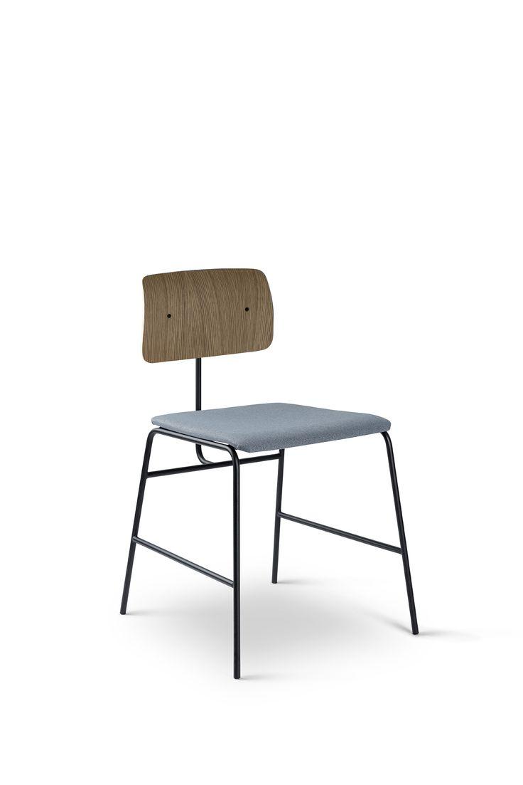 A soft seat is never a bad idea - Sincera chair // Bent Hansen