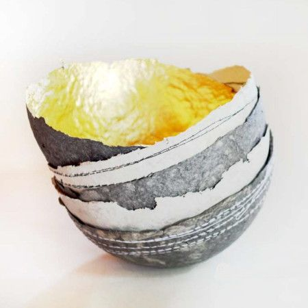 #eco #homeware #African gorgeous little bowls made from recycled paper