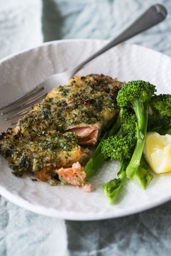 Gremolata-crusted Salmon