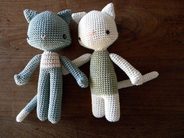 2 Cats #cute #amigurumi