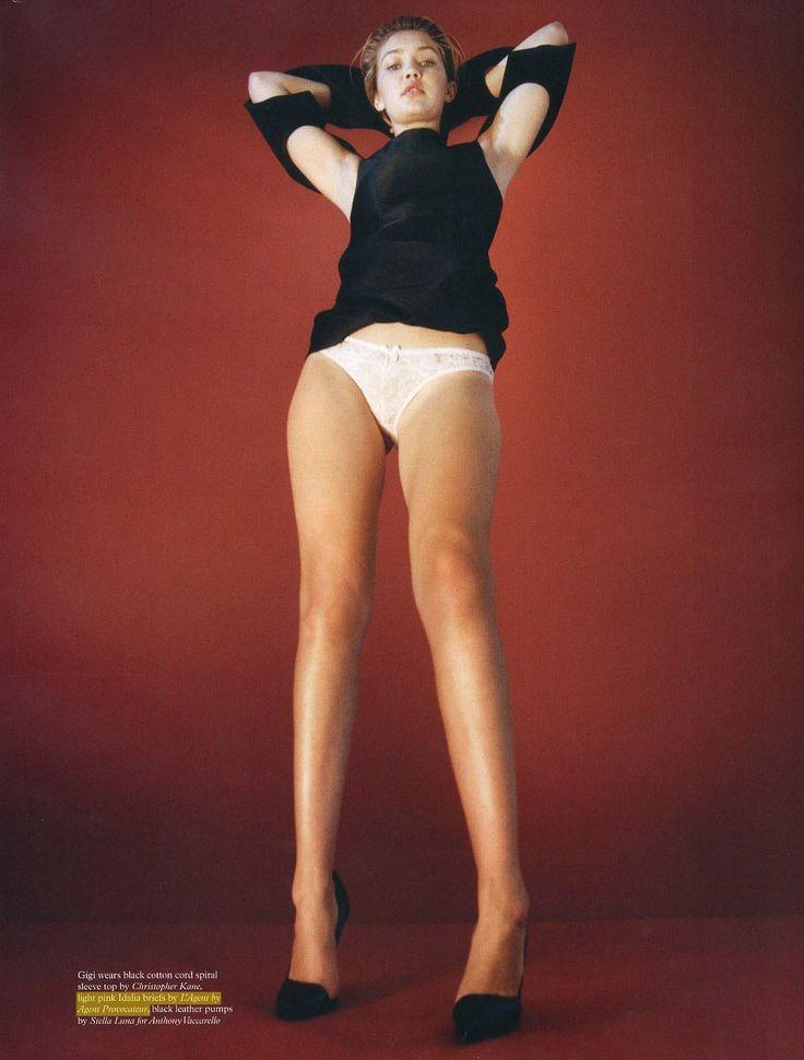 #Fashion #Editorial Megababe Gigi Hadid in our Idalia briefs for POP Magazine