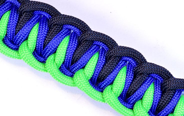 survival rope bracelet instructions