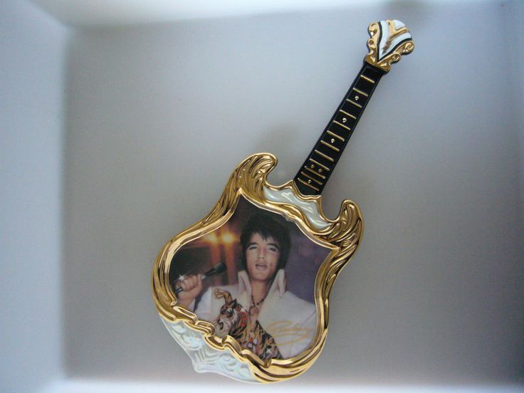 Elvis Entertainer of the Century Plate Bradford Exchange 1974 The Superstar