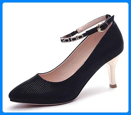 Frau Frühling Aufzug Schuhe fein mit hohen Absätzen Schuhe Dame zeigte Schuhe flach Mund mit Frau Schuhe , US5.5 / EU35 / UK3.5 / CN35 - Slipper und mokassins für frauen (*Partner-Link)