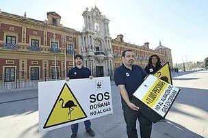 WWF España - WWF celebra el veto de la Junta de Andalucía al almacén de Gas Natural en Doñana