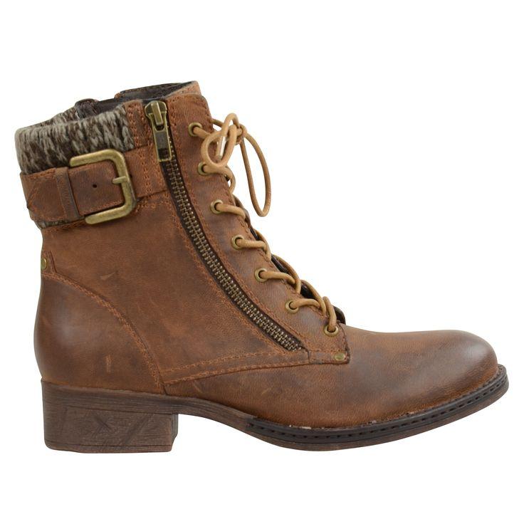 Brown cognac boots - Bruine cognac boots